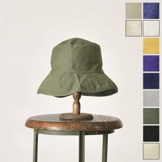 Hat attack Hat attack washed cotton crusher / ウオッシュドコットンクラッシャー hat and 3 ha 03-cyc809 (10 colors)