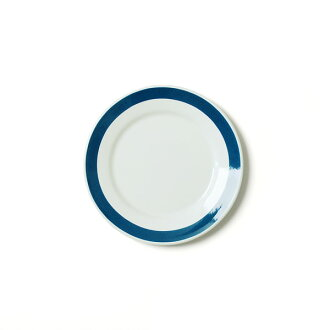 RIESS lease blue line plate 21cm/ white X blue line plate .0302-519