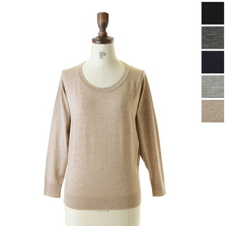 JOHN SMEDLEY-Smedley LOOSE SWEATER / pullover lies solid a3500 (5 colors) (S)