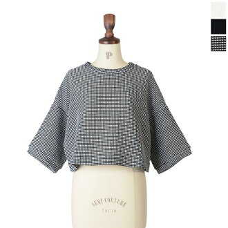 and d ' un a dix anadys crewneck クロップドプル over 1114600 (3 colors) (M)