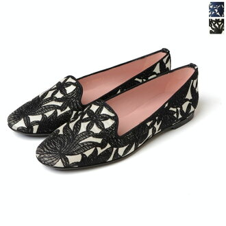 Pretty Ballerinas pretty ballerina FAYE embroidery/HEWITT embroidery low heel pumps-42590 (2 colors)