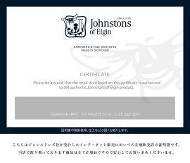 【2016年秋冬先行予約】Johnstonsジョンストンズカシミアチェックストール・WA56(unisex)【送料無料】