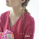 楽天Crouka/クローカ【ポイント最大36倍】MARIHA マリハ Organic Gems オーガニックジェムズ カラーストーン ネックレス K18YG・1203720010 【送料無料】 #0310