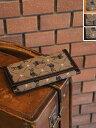 【送料無料】il bisonte イルビゾンテモノグラム レザーロングウォレット・5462306040(全3色)