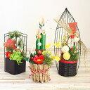 送料無料 プリザーブドフラワーのお正月飾り 選べる3種 写真...