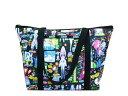 【新古品】 LeSportsac レスポートサック 日本限定 POPアートファブリックトートバッグ (鞄
