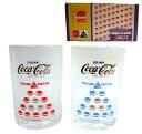 vintage EXPO 039 85×Coca-Cola Glass×2 ヴィンテージ つくば科学万博 039 85×コカコーラ コスモ星丸グラス×2脚セット (筑波 ビン 071489 【中古】