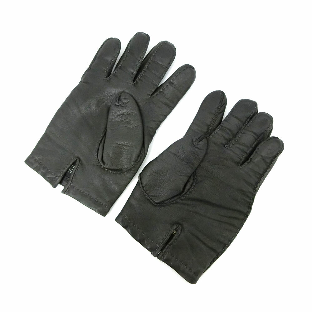 Black leather gloves on sale - Product Name