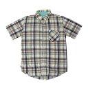 ショッピングトミー 美品 TOMMY HILFIGER トミーヒルフィガー タータンチェックシャツ (半袖 定番) 116709 【中古】