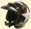 バイザー付き!可愛い子供用ヘルメット★スターポポジェットヘルメット/DAMMTRAX(ダムトラックス)バイク用