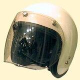 UVカット加工+傷が付きにくく割れにくい!ほとんどのジェットヘルメットに対応☆トイシールド/DAMMTRAX(ダムトラックス)バイクヘルメット用