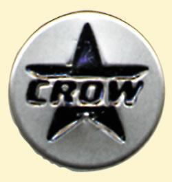 헬멧의 쉴드를 붙이는 버튼에 붙이는 신감각 액세서리!CROW 닷 버튼/CROW(크로우) 오토바이용 액세서리