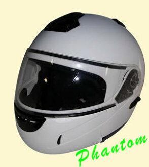 스위치 1 개 클리어와 스모크 쉴드를 체인 지! 팬텀 최상위 풀 페이스 헬멧 TNK PT-1/자전거 헬멧