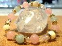 パワーストーン ブレスレット 3月の誕生石 アクアマリン『幸せな結婚』を象徴する美しいブルーの透明石 パワーストーンブレスレット アクアマリン/マザーオブパール/ローズクオーツ/オブシディアン アクセサリー ジュエリー [天然石][数珠][念珠]【細美型】