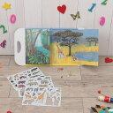エグモントトイズ マグネットブック ジャングル Egmont toy ベルギー 何度も遊べる 持ち運びできる絵本 おしゃれ ギフト 誕生日 ...