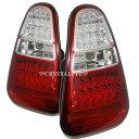 【送料無料・代引き手数料無料】BMW ミニ MINI LEDテールランプR50/R52/R53系ウインカーLEDタイプ人気のレッドクリアー