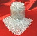 【ハイクォリティー 完全天然本水晶】<小粒>さざれ水晶(透明度の高い高品質水晶のさざれ石)1kgパック(3〜5mm小粒サイズ ブラジル産)