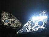 ■セリカ(230・231系)CCFLプロジェクターヘッドライトリング付インナーブラック・クロームメッキ選択可能