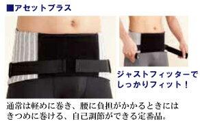 腰痛防止收緊pokkorio肚子!男性用腹圧健康皮帶