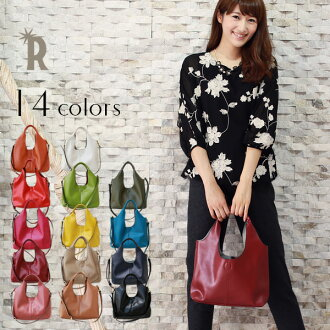 CUBE 2 way REAL cowhide leather with multi-inner-pocket MINI bag with shoulder strap (V65121210-S)