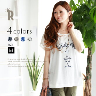 Vintage processing style ☆ thick heterogeneous material logo tee shirt (Z53095) ★ ships fs3gm