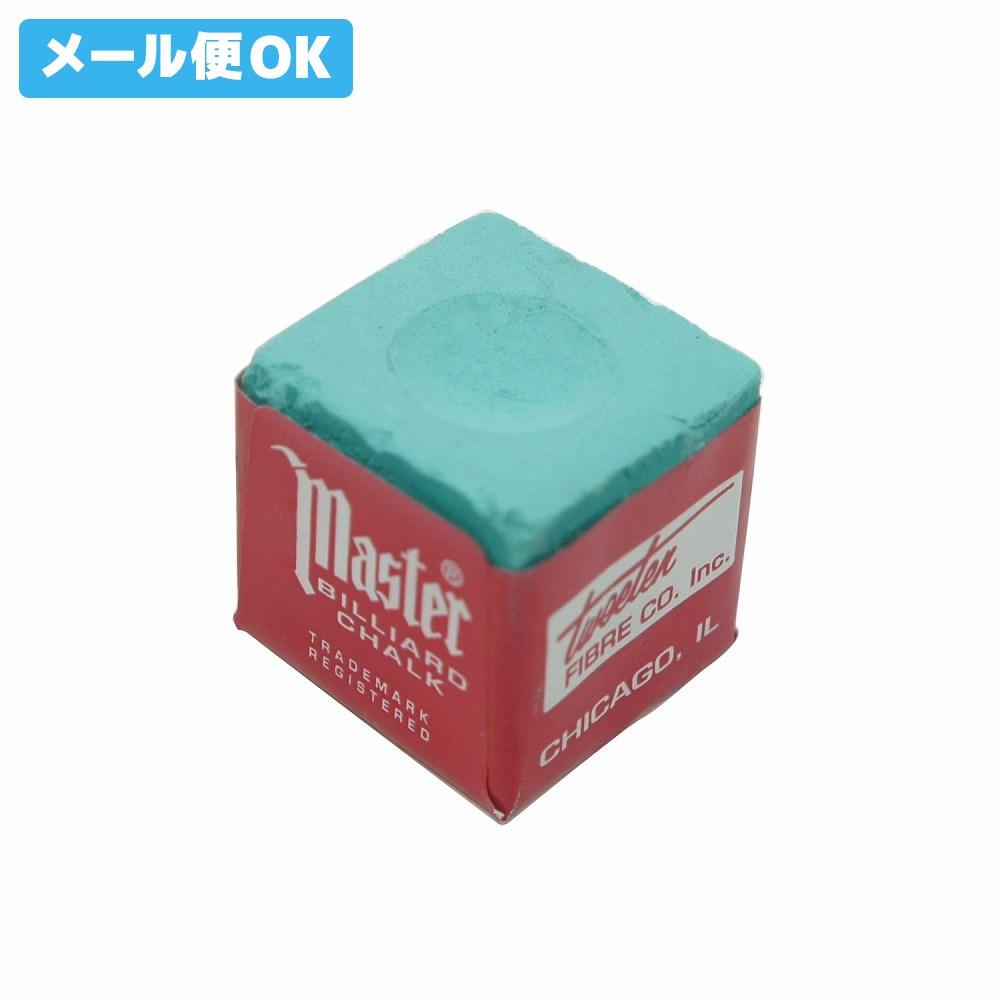 【メール便可】 ビリヤード チョーク マスターチョーク 緑 バラ