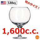 Libbey リビー スーパースクーナー No.3407 1,600cc RLB-N4[関連:Libbey アメリカ 特大 ワイングラス 大皿 ビュッフェ パー...