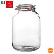 【ボルミオリ・ロッコ】ガラス フィドジャー 1.49270 5L  《RBR-60》【関連:BormioliRocco イタリア製 ブランド 人気商品 保存 密封 瓶 ビン】