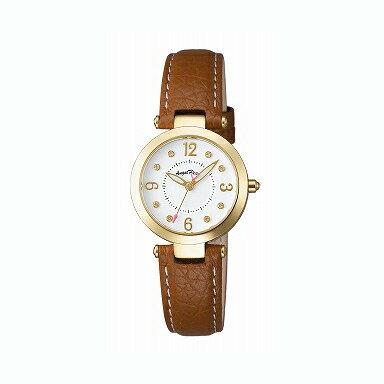 エンジェルハート Angel Heart 時計 腕時計 エンジェルハート 腕時計 Angel Heart LV26YGBW ラブタイム ホワイト/ゴールド/ブラウン レディース カーフ革