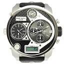 ディーゼル DIESEL 時計 腕時計 メンズ ディーゼル 時計 メンズ DIESEL DZ7125 トリプルタイム デジタル/アナログ ブラック/シルバー 腕時計