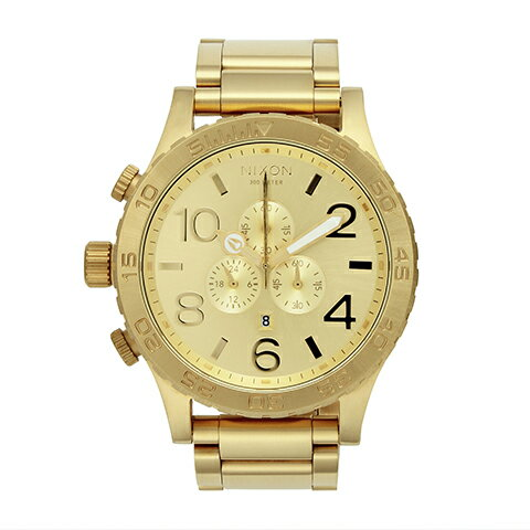 : ゴールド - NIXON(ニクソン)腕時計:  …