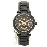 ヴィヴィアンウエストウッド 腕時計 レディース Vivienne Westwood VV006KBK KENSINGTON2 時計/ウォッチ ブラック