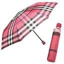 バーバリー 折り畳み傘 BURBERRY 3903639 6639B アンブレラ RED CHECK【new0508】【RCP】【通販】【5,400円以上で送料無料】【ブランド】【ギフト】【父の日】【あす楽対応_関東】