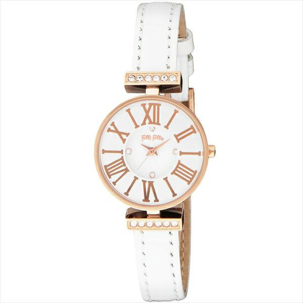 フォリフォリ FOLLI FOLLIE 時計 腕時計 フォリフォリ 腕時計 FOLLI FOLLIE WF13B014SSW-WH ホワイト/ピンクゴールド