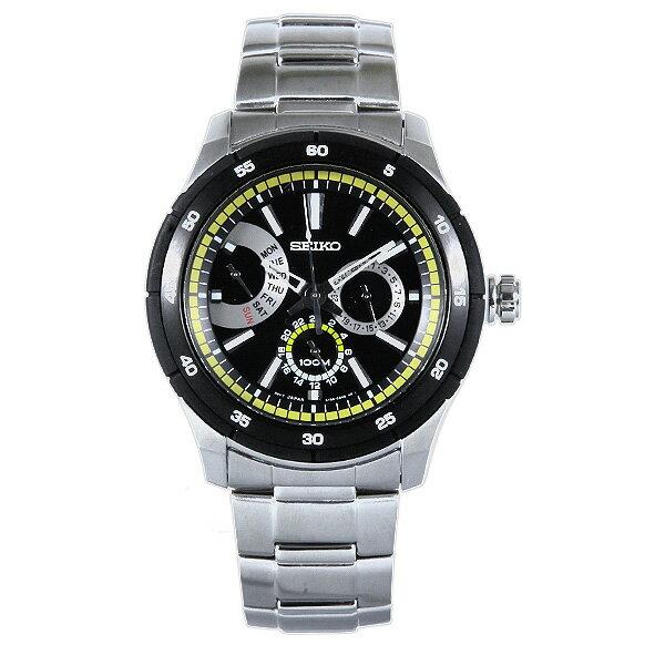 セイコー SEIKO 時計 腕時計 メンズ セイコー 時計 メンズ SEIKO SNT023P1 CRITERIA クライテリア 腕時計 ウォッチ シルバー/ブラック セイコー 時計 メンズ SEIKO 腕時計 5,400円以上で送料無料