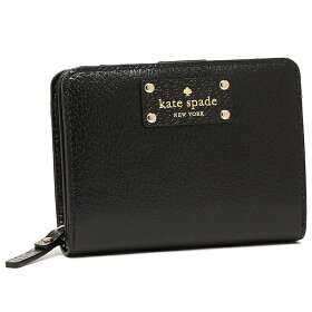 ケイトスペード折財布アウトレットKATESPADEWLRU1745001ブラック