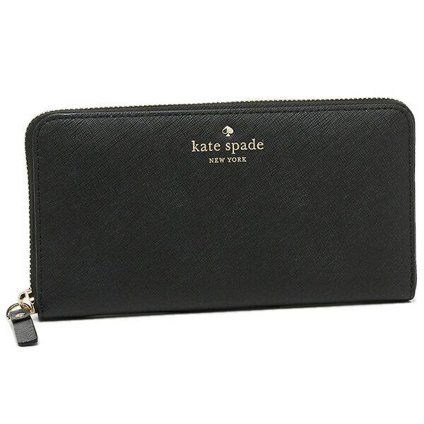 ケイトスペード 長財布 KATE SPADE PWRU3898 001 ブラック...:culture:10162475