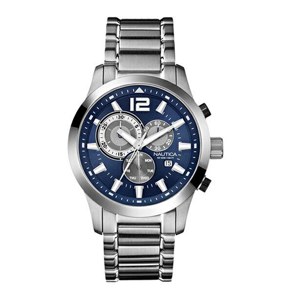 brand shop axes rakuten global market nautica watch men s brand shop axes rakuten global market nautica watch men s nautica a17548g ncs600 classic sporty classic quartz watches watch silver blue