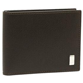ダンヒルDUNHILL財布DUNHILLダンヒルFP3070E2つ折り財布サイドカーダークブラウン