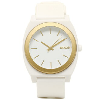 Nixon NIXON watches time teller p watch mens Nixon watch women's / men's NIXON A1191297 A119-1297 THE TIME TELLER P ANODAZE time teller p watch white
