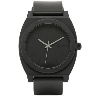 Nixon NIXON watches time teller p watches mens NIXON Nixon A119524 THE TIME TELLER P time teller p MATTE BLACK matte black watch / ladies / mens watches