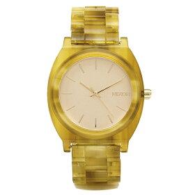 ニクソンNIXON時計タイムテラー腕時計メンズニクソン腕時計レディース/メンズNIXONA3271423TIMETELLERACETATEタイムテラーアセテートウォッチゴールド