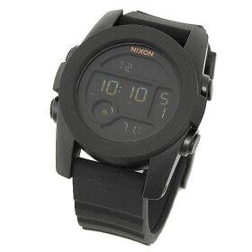 ニクソンNIXON時計腕時計メンズニクソン腕時計ユニットレディース/メンズNIXONA490001A490-001THEUNIT40ウォッチ/時計ブラック