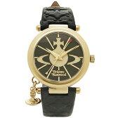 ヴィヴィアン 腕時計 ヴィヴィアンウエストウッド VV006BKGD ブラックゴールド