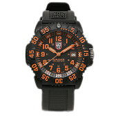 ルミノックス LUMINOX 時計 腕時計 メンズ LUMINOX ルミノックス GGL.L3059 NAVYSEALS COLORMARK SERIES ネイビーシールズカラーマークシリーズ メンズ アナログ時計/ウォッチ オレンジ/ブラック