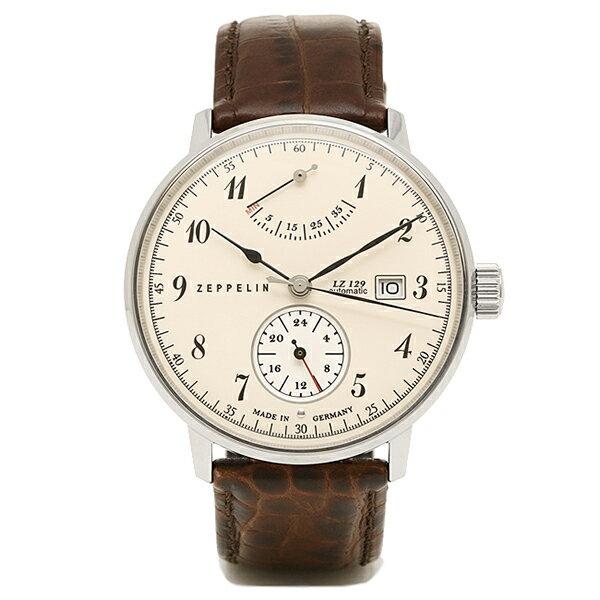 ツェッペリン Zeppelin 時計 腕時計 メンズ ツェッペリン 時計 メンズ ZEPPELIN 70604 LZ129 ヒンデンブルグ 自動巻 腕時計 ウォッチ ブラウン/ホワイト ZEPPELIN 腕時計 ツェッペリン 時計 メンズ 5,400円以上で送料無料