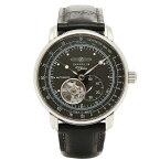 ツェッペリン 自動巻 腕時計 Zeppelin 76622 ブラック