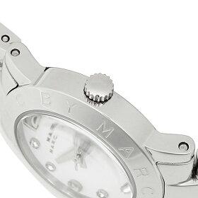 マークバイマークジェイコブスMARCBYMARCJACOBS時計腕時計マークバイマークジェイコブス腕時計レディースMARCBYMARCJACOBSMBM3055SmallAmyスモールエイミーウォッチホワイト/シルバー
