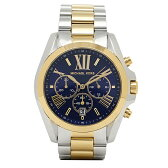 マイケルコース MICHAEL KORS 時計 レディース 腕時計 マイケルマイケルコース 時計 レディース MICHAEL MICHAEL KORS MK5976 BRADSHAW CHRONOGRAPH 腕時計 ウォッチ シルバー/ブルー