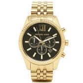 マイケルコース MICHAEL KORS 時計 レディース 腕時計 マイケルマイケルコース 時計 メンズ MICHAEL MICHAEL KORS MK8286 LEXINGTON レキシントン 腕時計 ウォッチ ブラック/ゴールド